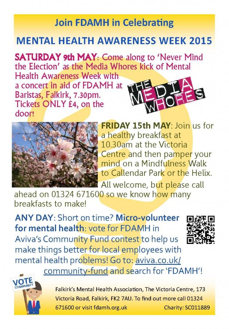 2015 May MHAW 2015 Poster